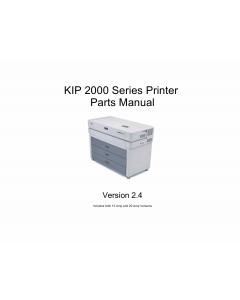 KIP 2000 Parts Manual