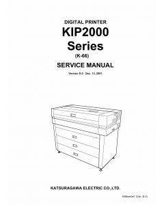 KIP 2000 Service Manual