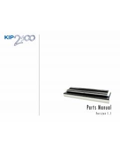KIP 2300 Parts Manual