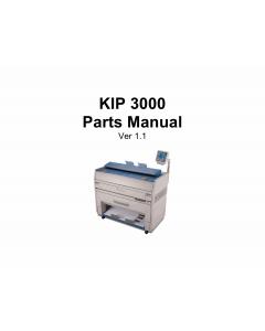 KIP 3000 Parts Manual