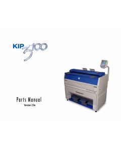 KIP 3100 Parts Manual