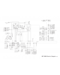 KIP 5000 K-109 Circuit Diagram
