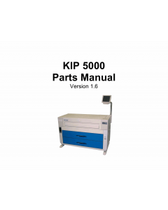 KIP 5000 K-109 Parts Manual