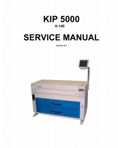 KIP 5000 K-109 Service Manual