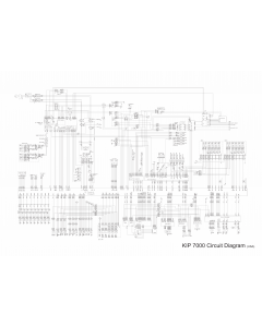 KIP 7000 Circuit Diagram