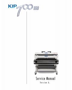 KIP 700m Service Manual