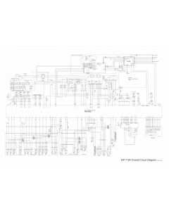 KIP 7100 Circuit Diagram