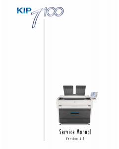 KIP 7100 Service Manual