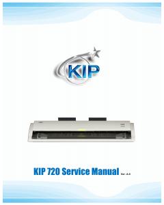 KIP 720 Service Manual