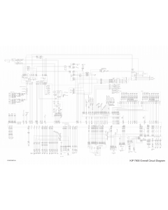 KIP 7900 Circuit Diagram