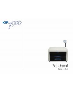 KIP 7900 Parts Manual
