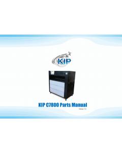 KIP C7800 Parts Manual