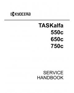 KYOCERA ColorMFP TASKalfa-550c 650c 750c Service Handbook