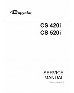 KYOCERA MFP Copystar-CS-420i 520i Parts and Service Manual