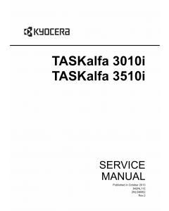 KYOCERA MFP TASKalfa-3010i 3510i Service Manual