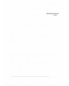 KYOCERA Options Document-Feeder DF-30 31 Parts and Service Manual
