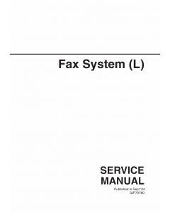 KYOCERA Options FAX-System-L Parts Manual
