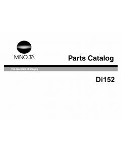 Konica-Minolta MINOLTA Di152 Parts Manual