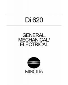 Konica-Minolta MINOLTA Di620 GENERAL Service Manual