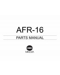 Konica-Minolta Options AFR-16 Parts Manual