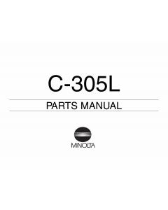 Konica-Minolta Options C-305L Parts Manual