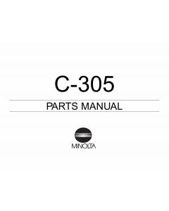 Konica-Minolta Options C-305 Parts Manual