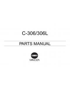 Konica-Minolta Options C-306 306L Parts Manual