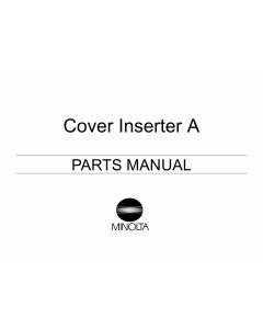 Konica-Minolta Options Cover-Inserter-A Parts Manual