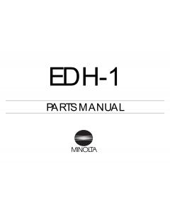Konica-Minolta Options EDH-1 Parts Manual