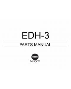 Konica-Minolta Options EDH-3 Parts Manual