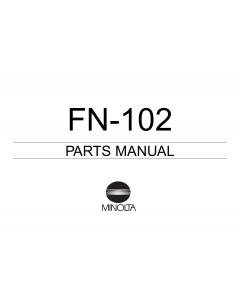 Konica-Minolta Options FN-102 Parts Manual