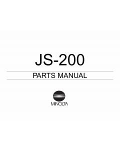 Konica-Minolta Options JS-200 Parts Manual
