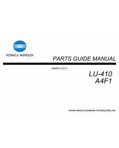 Konica-Minolta Options LU-410 A4F1 Parts Manual