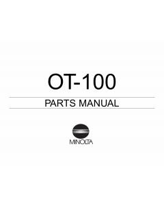 Konica-Minolta Options OT-100 Parts Manual
