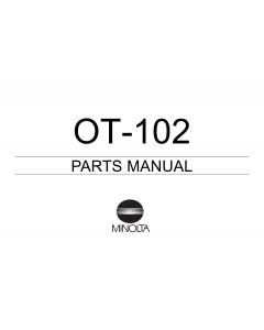 Konica-Minolta Options OT-102 Parts Manual