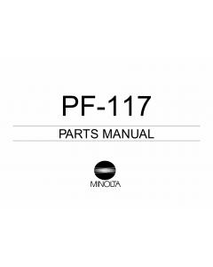 Konica-Minolta Options PF-117 Parts Manual