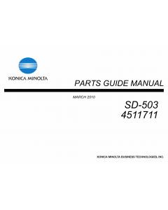 Konica-Minolta Options SD-503 4511711 Parts Manual