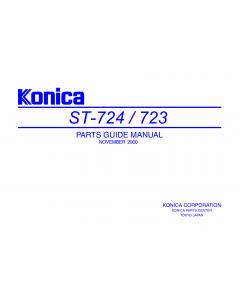 Konica-Minolta Options ST-723 724 Parts Manual
