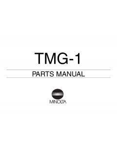 Konica-Minolta Options TMG-1 Parts Manual