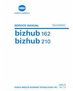 Konica-Minolta bizhub 162 210 FIELD-SERVICE Service Manual