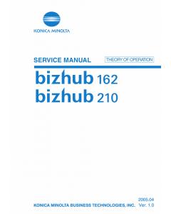 Konica-Minolta bizhub 162 210 THEORY-OPERATION Service Manual