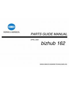 Konica-Minolta bizhub 162 Parts Manual