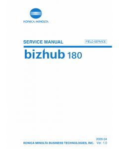 Konica-Minolta bizhub 180 FIELD-SERVICE Service Manual