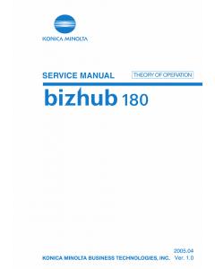 Konica-Minolta bizhub 180 THEORY-OPERATION Service Manual