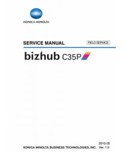 Konica-Minolta bizhub C35P FIELD-SERVICE Service Manual