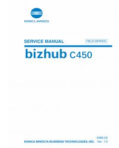 Konica-Minolta bizhub C450 FIELD-SERVICE Service Manual