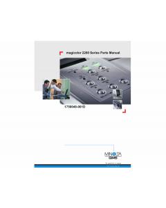 Konica-Minolta magicolor 2200 Parts Manual