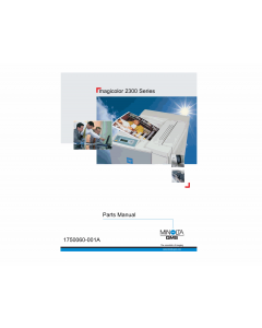 Konica-Minolta magicolor 2300 Parts Manual