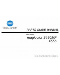Konica-Minolta magicolor 2480MF 4556 Parts Manual
