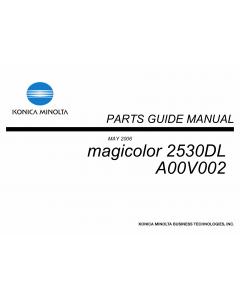 Konica-Minolta magicolor 2530DL Parts Manual